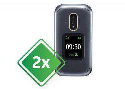 Doro mobilni telefon 7080 + E3 Zeleni 21-1